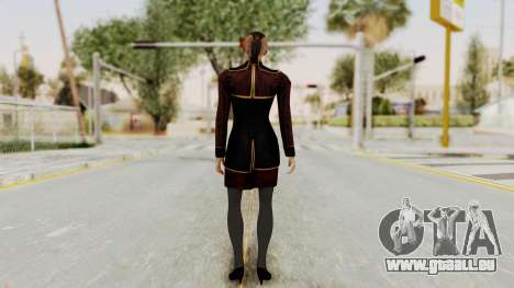Mass Effect 3 Jack Official Skirt für GTA San Andreas dritten Screenshot