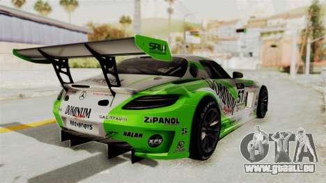 Mercedes-Benz SLS AMG GT3 PJ2 pour GTA San Andreas