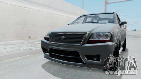 GTA 5 Benefactor Serrano IVF pour GTA San Andreas