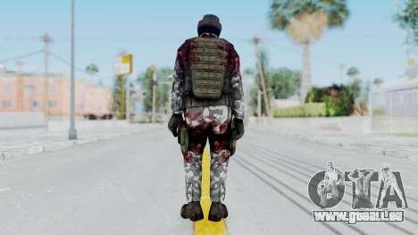 Black Mesa - Wounded HECU Marine Medic v1 pour GTA San Andreas troisième écran