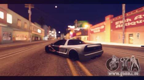 Infernus Shark Edition by ZveR v1 pour GTA San Andreas laissé vue