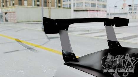 Nissan Skyline R32 Drift (H.A.R) pour GTA San Andreas vue arrière