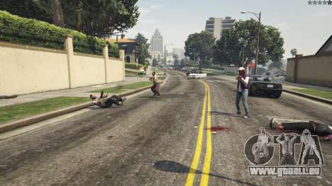 GTA 5 More crime mod 1.1a sechster Screenshot