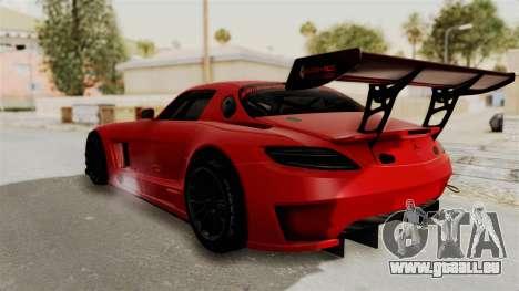 Mercedes-Benz SLS AMG GT3 PJ2 pour GTA San Andreas laissé vue