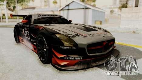 Mercedes-Benz SLS AMG GT3 PJ2 pour GTA San Andreas salon