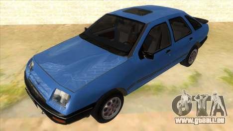 Ford Sierra 1.6 GL Updated für GTA San Andreas