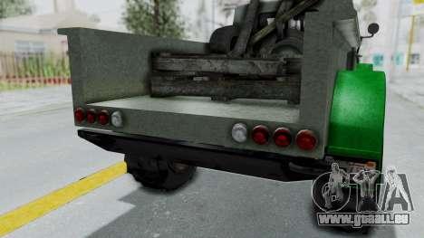 GTA 5 Bravado Duneloader Cleaner Worn IVF für GTA San Andreas Innenansicht