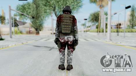 Black Mesa - Wounded HECU Marine Medic v2 pour GTA San Andreas troisième écran