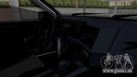 Ford Sierra Turnier 4x4 Saphirre Cosworth pour GTA San Andreas vue intérieure