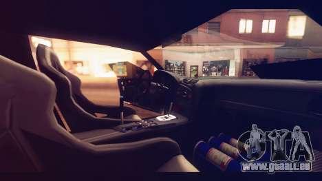 Infernus Shark Edition by ZveR v1 pour GTA San Andreas vue de droite