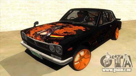1971 Nissan GT-R Hakosuka pour GTA San Andreas