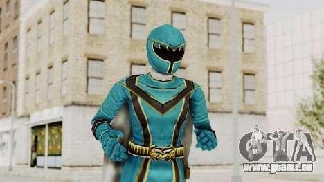 Power Rangers Mystic Force - Blue pour GTA San Andreas
