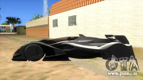 RedBull X2010 für GTA San Andreas linke Ansicht