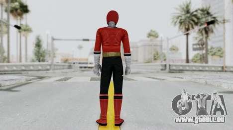 Power Rangers Samurai - Red für GTA San Andreas dritten Screenshot