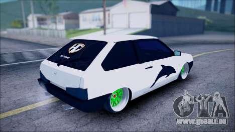 VAZ 2108 Lambo pour GTA San Andreas laissé vue