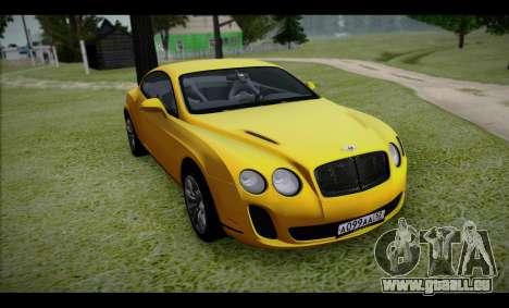 Bentley Continental für GTA San Andreas