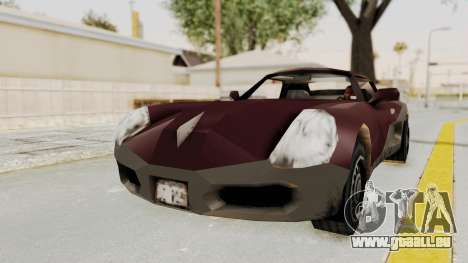 GTA 3 Yakuza Stinger pour GTA San Andreas sur la vue arrière gauche