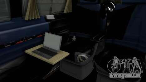 Volkswagen Transporter TDI Final für GTA San Andreas Rückansicht