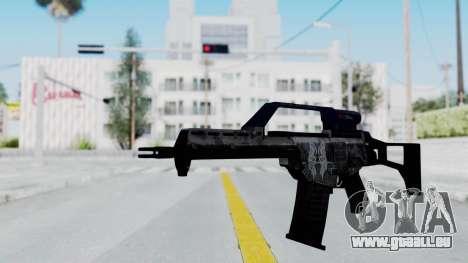 G36E Valkyrie Paintjob pour GTA San Andreas deuxième écran