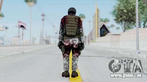 Black Mesa - Wounded HECU Marine v3 pour GTA San Andreas troisième écran