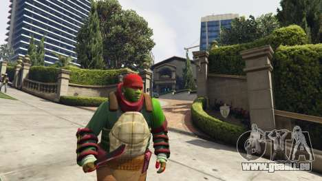 GTA 5 Teenage mutant ninja turtles troisième capture d'écran