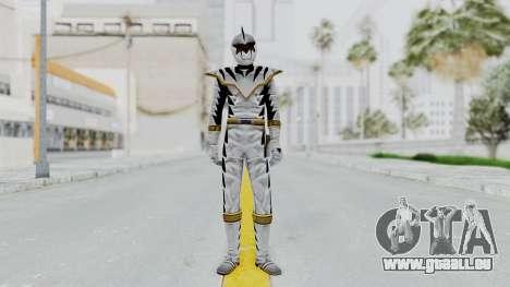 Power Rangers Dino Thunder - White für GTA San Andreas zweiten Screenshot