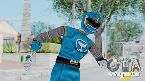 Power Rangers Ninja Storm - Blue für GTA San Andreas