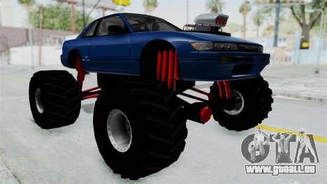 Nissan Silvia S13 Monster Truck für GTA San Andreas
