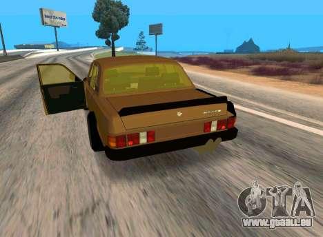 Volga 3110 Classic Bataille pour GTA San Andreas vue de droite