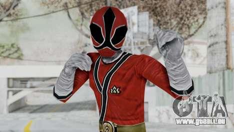 Power Rangers Samurai - Red für GTA San Andreas