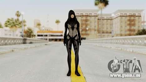 Mass Effect 2 Kasumi Black pour GTA San Andreas deuxième écran