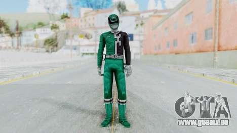 Power Rangers RPM - Green pour GTA San Andreas deuxième écran