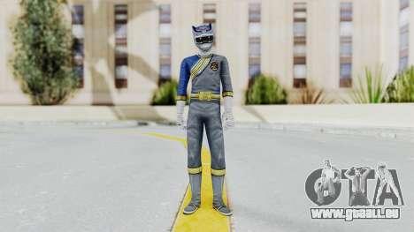 Power Rangers Wild Force - Wolf für GTA San Andreas zweiten Screenshot