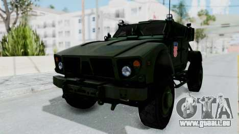 Croatian Oshkosh M-ATV Woodland für GTA San Andreas