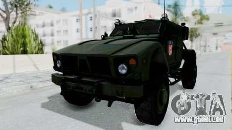 Croatian Oshkosh M-ATV Woodland für GTA San Andreas