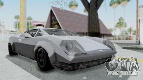 GTA Vice City - Infernus pour GTA San Andreas vue de droite