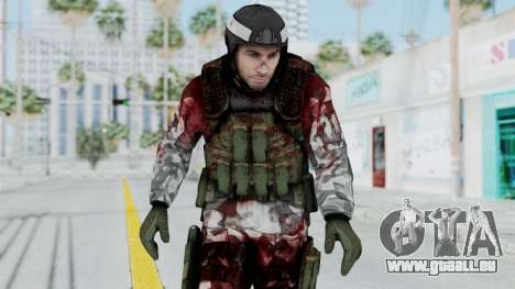 Black Mesa - Wounded HECU Marine Medic v1 pour GTA San Andreas
