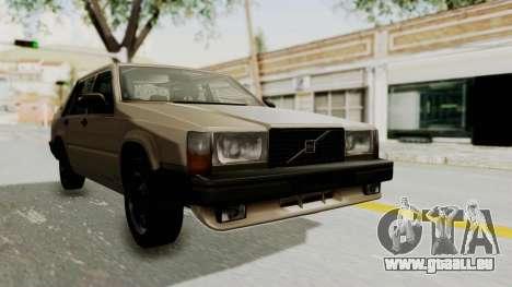 Volvo 740 für GTA San Andreas