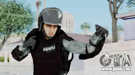 La Gendarmerie, Qui Émeute De La Peau pour GTA San Andreas
