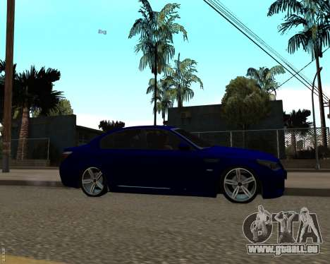 BMW M5 E60 v1.0 für GTA San Andreas linke Ansicht