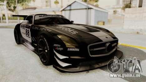 Mercedes-Benz SLS AMG GT3 PJ2 pour GTA San Andreas vue intérieure