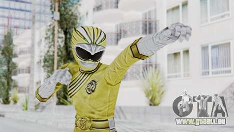 Power Rangers Wild Force - Yellow pour GTA San Andreas