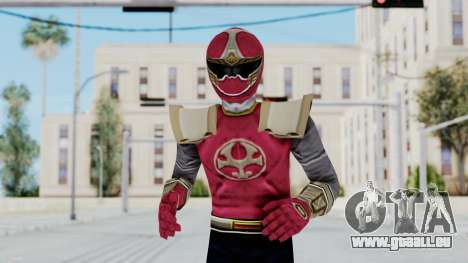 Power Rangers Ninja Storm - Crimson für GTA San Andreas