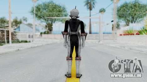 Power Rangers RPM - Silver pour GTA San Andreas troisième écran