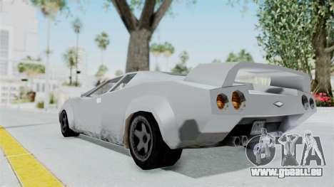 GTA Vice City - Infernus pour GTA San Andreas laissé vue
