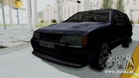 Ford Sierra Turnier 4x4 Saphirre Cosworth pour GTA San Andreas
