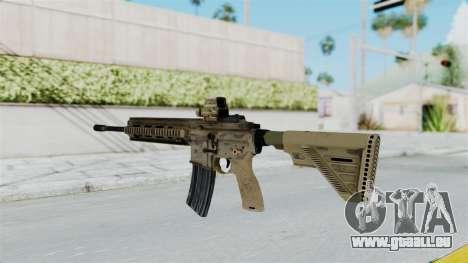 HK416A5 Assault Rifle pour GTA San Andreas deuxième écran