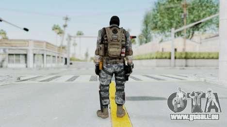 Battery Online Soldier 5 v3 pour GTA San Andreas troisième écran