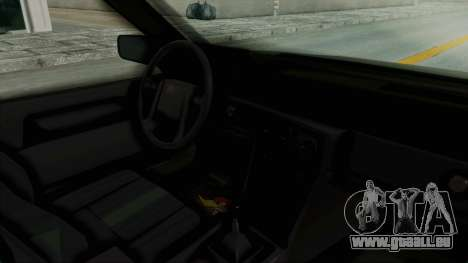 Volvo 740 für GTA San Andreas Innenansicht