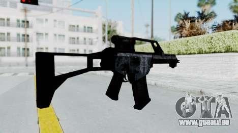 G36E Valkyrie Paintjob pour GTA San Andreas troisième écran